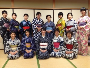 中野島浴衣講習1