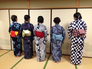 中野島浴衣講習7