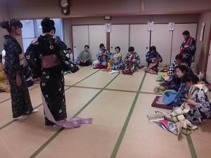 中野島浴衣講習4