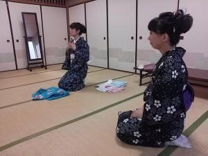 中野島浴衣講習2