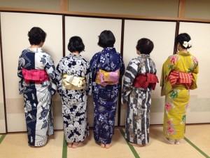 中野島浴衣講習8