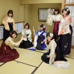 袴&ボブヘア