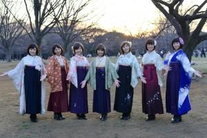ボブヘア&袴