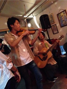 Violin and Guitar Live