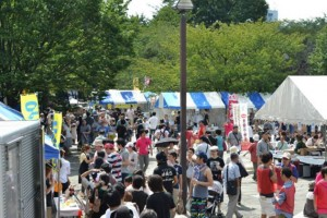 Kitaku Festival shops