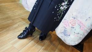 卒業式 袴 ブーツ
