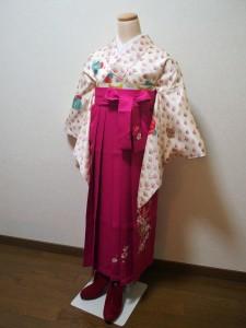 カジュアルな袴スタイル